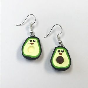 Other - Avocado Polymer Clay Earrings